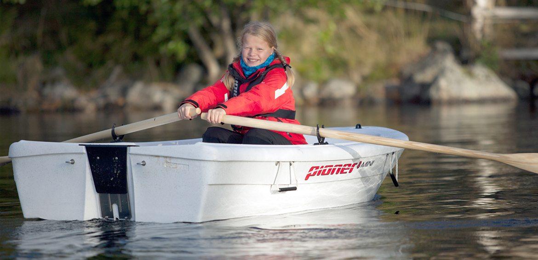 Pioner 8 Mini er en fin robåt
